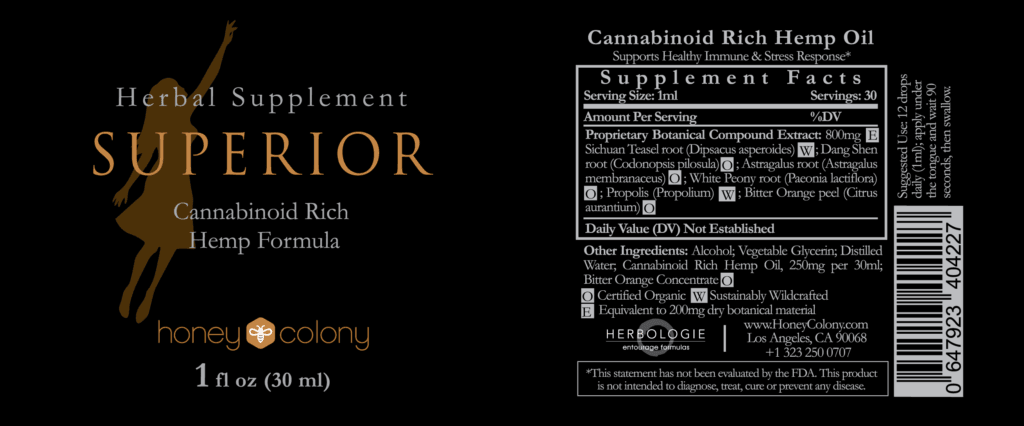 Superior hemp Oil